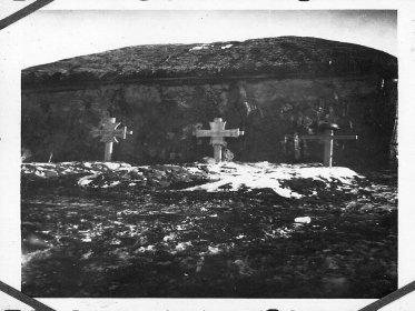 Немецкое кладбище в Береке, ранняя весна 1942 года