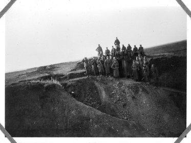 Немецкие солдаты возле Береки, апрель 1942 года