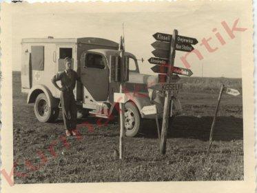 Немецкий солдат санитарной службы где-то между Верхним Бишкином и Алексеевкой