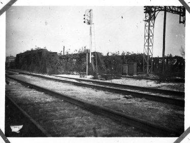 Железная дорога возле Беспаловки или Лихачёво, 1942 год