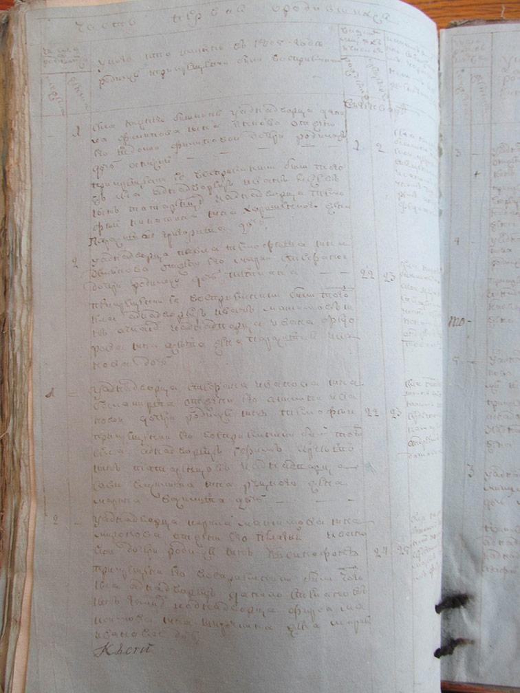 Метрическая книга Покровской церкви села Нижний Бишкин за 1805 год