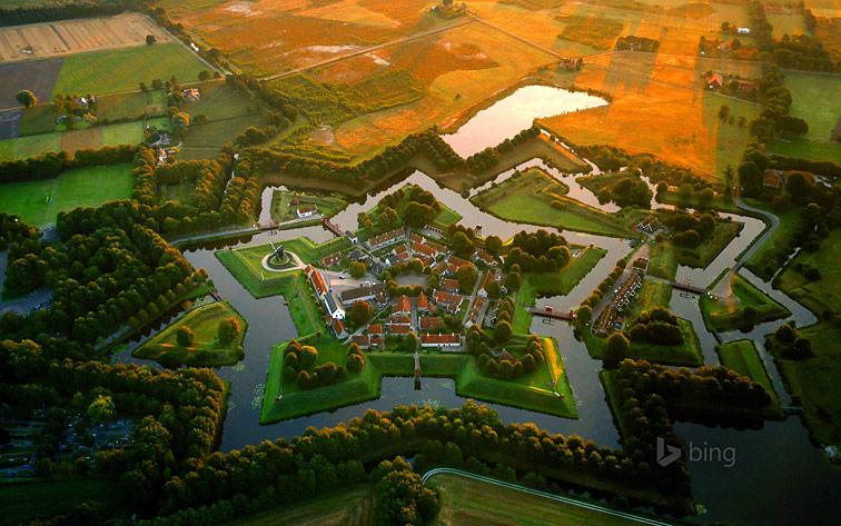 Форт Бауртанге (Fort Vesting Bourtange), Нидерланды.
