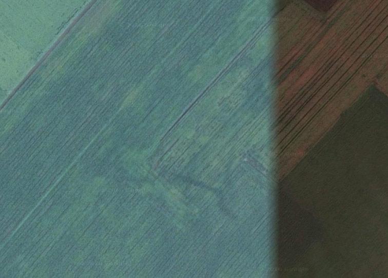 Старая Козловская крепость Украинской линии на снимках Google