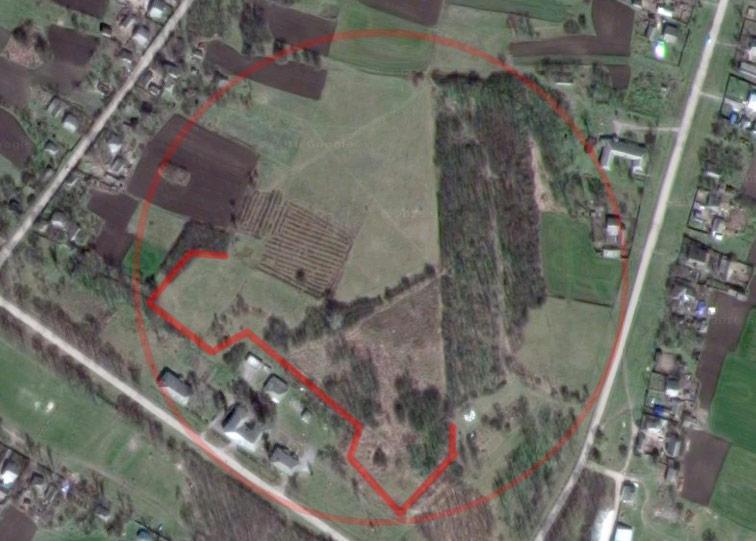 Ливенская крепость Украинской линии на снимках Google