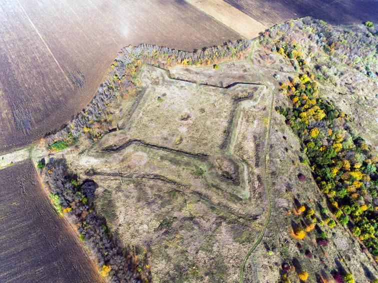 Михайловская крепость Украинской линии