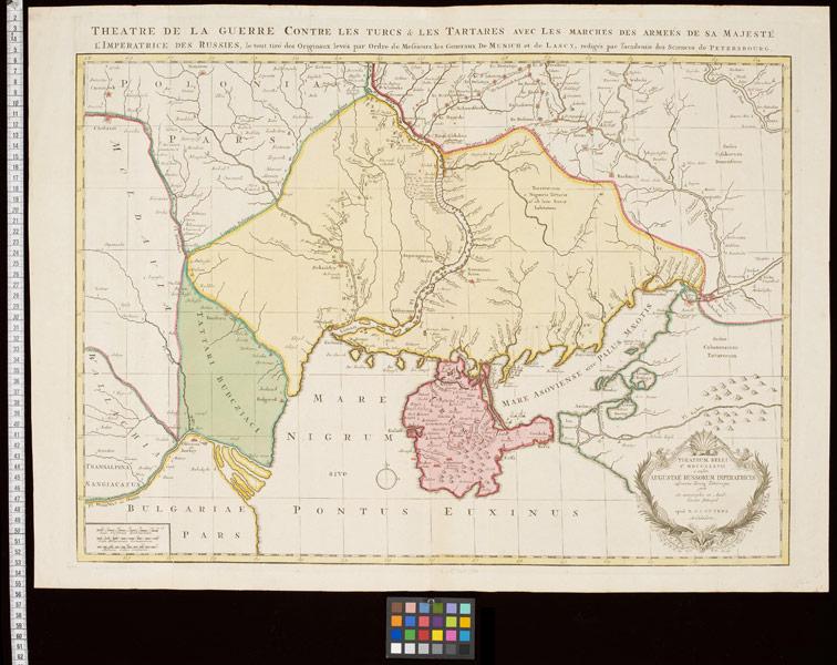 Театр военных действий августа 1737 года против Турок и Татар, Оттенс, 1737 год.