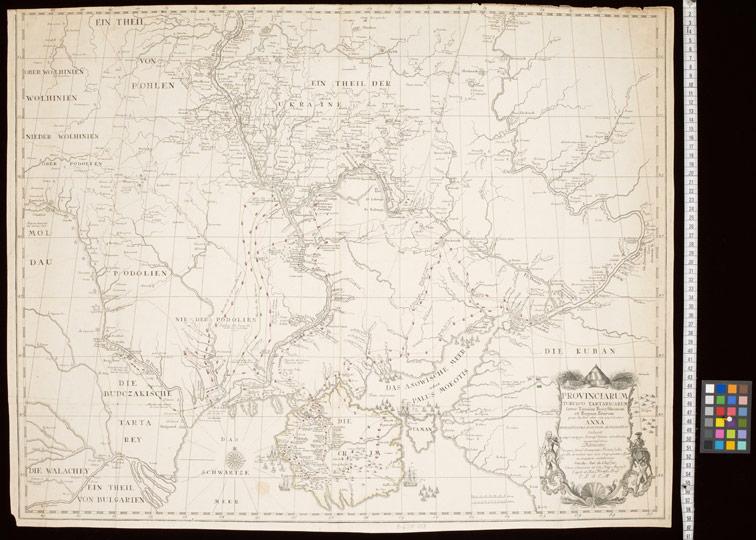 Турецкие провинции в Татарии между Доном, Днепром и Бугом за два года 1736 и 1737.