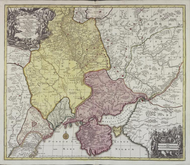 Театр военных действий показывающий Русские победы, 1758/1780 год.