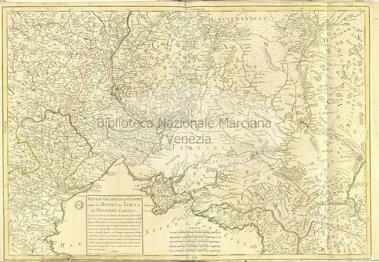 Новый театр военных действий между русскими, турками и польскими конфедератами, 1769 год